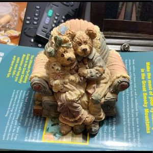 """Boyds Bear """"Yes Sir That's My Baby Music Box"""""""